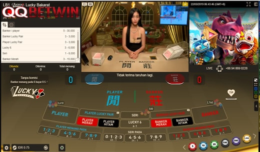 Cara Menang Bermain Game Kartu Lucky Baccarat QQBetwin