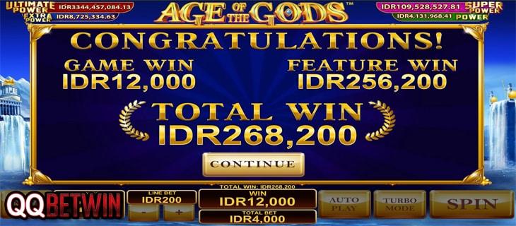 QQBetwin Situs Slot Game Online Bonus Win Terbesar-Playtech